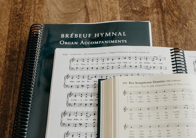 84813-Brebeuf-Hymnal-Organ-Accompaniments