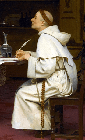 87994 monk writes