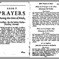 90607 p336 • Latin English Mass (1687) ORDO MISSAE