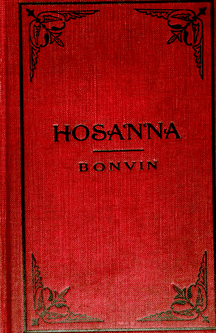 90658 Ludwig Bonvin HOSANNA HYMN BOOK Catholic