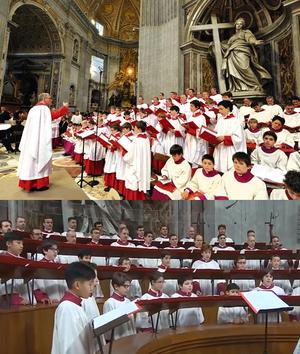 CTL Sistine Chapel Choir New Choir Stalls