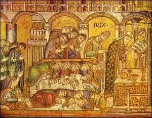 LMT Sacrifice of the Mass Fresco