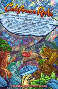 CA Roots Full Lineup Poster