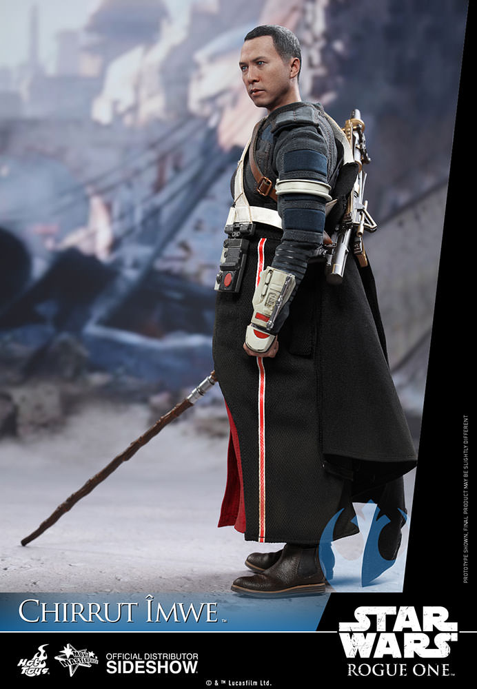 Star Wars Hot Toys announced their Chirrut Imwe figure earlier this year for pre-order.
