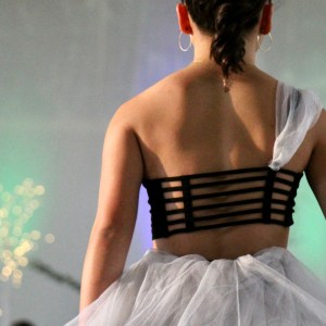 saint monica high school's FIDM fashion club runway show