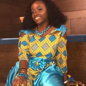 FIDM Fashion Club President Alimah Kasumu