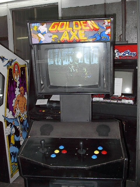 The Golden Axe Resource Death Adders Castle Golden Axe Original Arcade Game