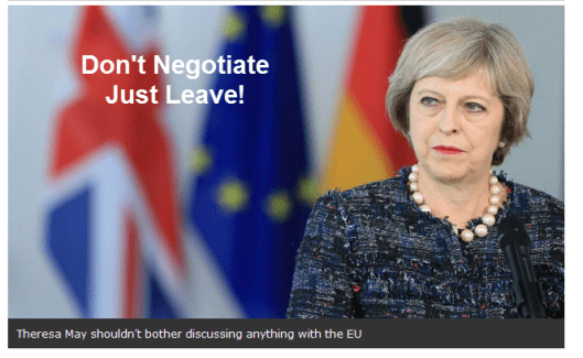 just-leave
