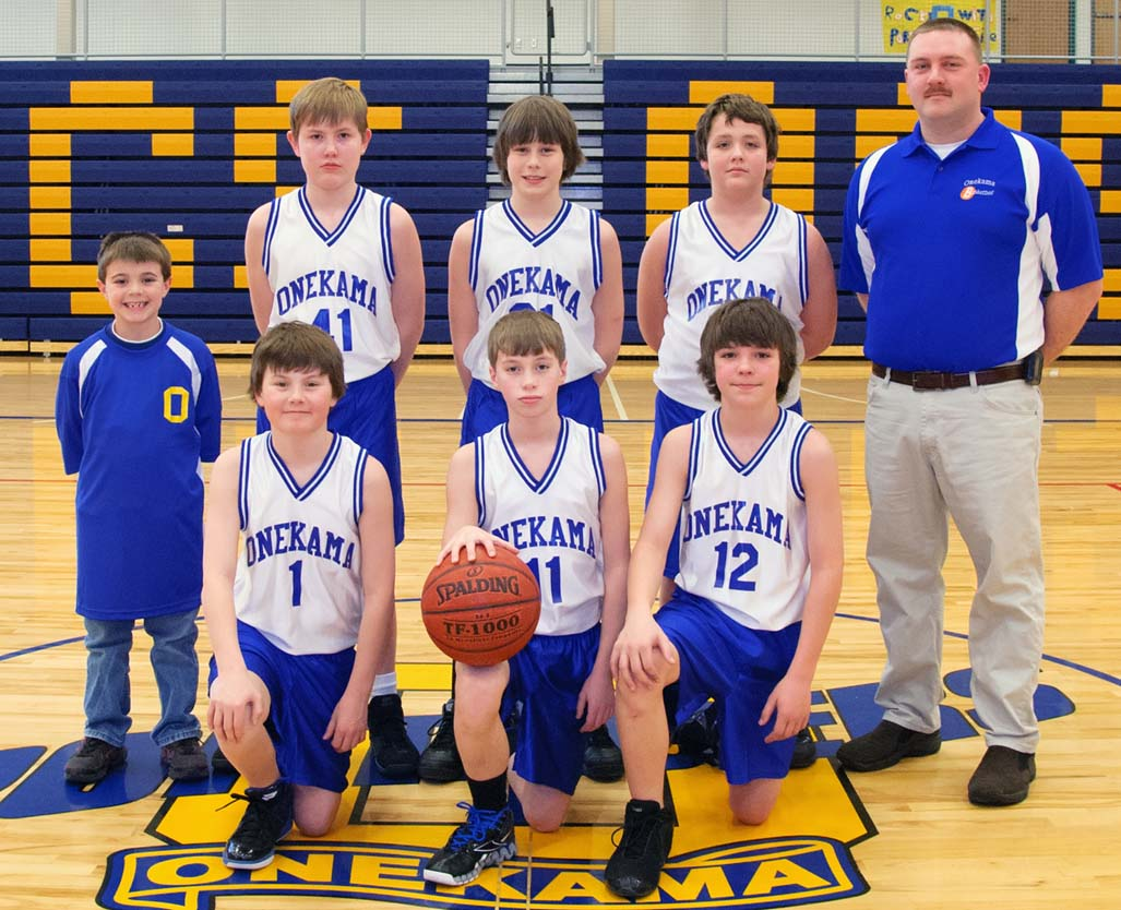 Onekama Boys Basketball For Grade 6