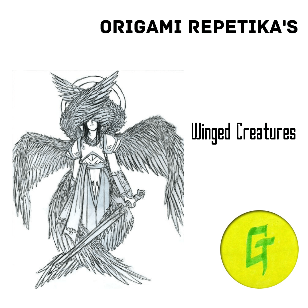 origami repetika  – winged creatures