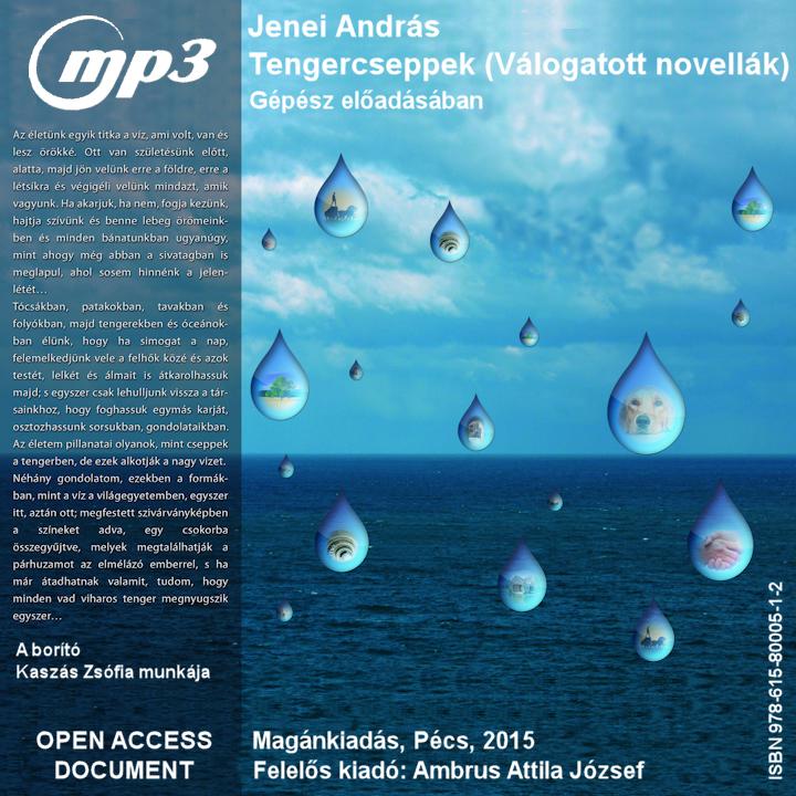 Jenei András: Tengercseppek - Hangoskönyv (mp3)