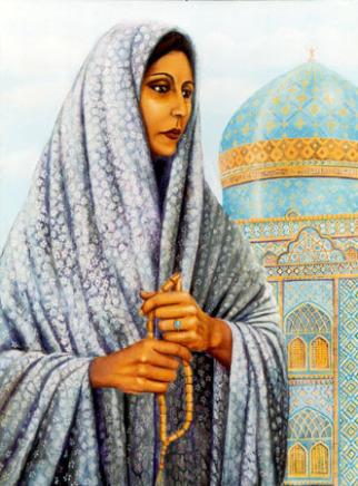 Lukisan artistik Razia Sultan 35 wanita muslimah berpengaruh dalam sejarah