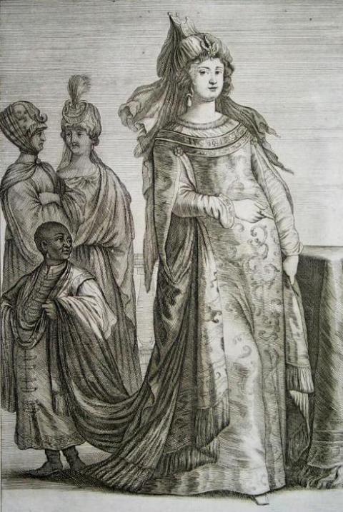 Representasi Barat awal abad ke-18 dari Kösem Sultan 35 wanita berpengaruh dalam sejarah