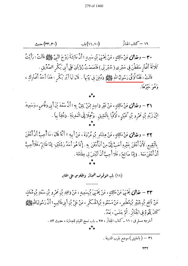 وفات مسیح۔ توفی معنی موت۔ موطا امام مالک