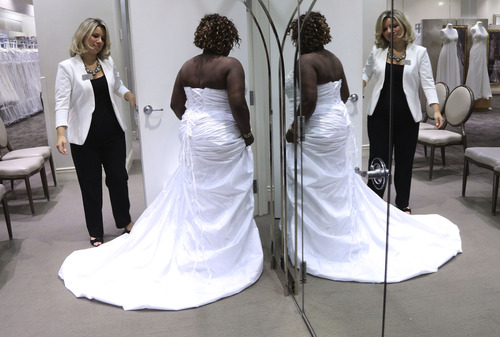 Older Brides Bucking Tradition With Fancy Gowns, Garter
