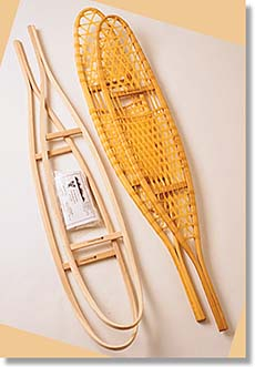 country ways traditional snowshoe kit