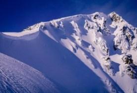 cornice- avalanche territory