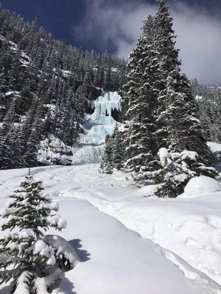 Louise Falls at Lake Louise AB