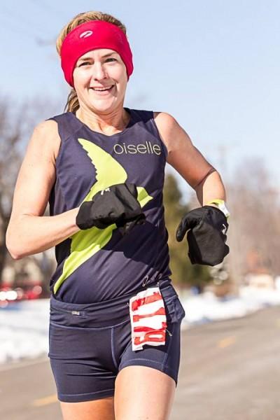 Melissa Gacek with her trademark smile winning the class. Photo by Wayne Kruduba