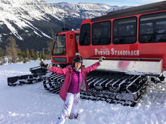 Snowcat Ski Tour at Castle Mountain Resort