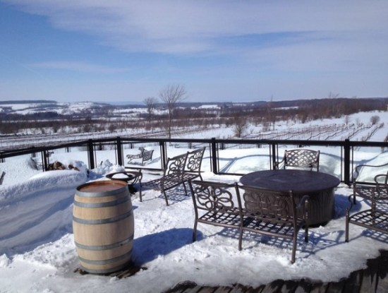 Coffin Ridge- Snowshoe & Wine In Ontario