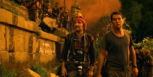 """""""I'm just a little man,"""" says Dennis Hopper's photojournalist character in this """"Apocalypse Now"""" image from DLPreviews.blogspot"""