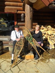 Gene and Therese Dayton show their hospitality at the Breckenridge Nordic Center