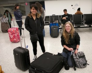 The Feather staff essentially first started their journey in the mid-to-late afternoon of March 16 when they made the approximately three and a half hour drive to the San Francisco International Airport.