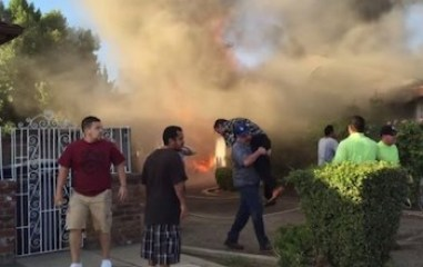 Man-rescues-another-man-from-fire