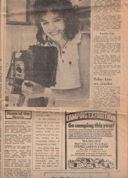 Press coverage in the Yorkshire Evening Press after the move to Colliergate