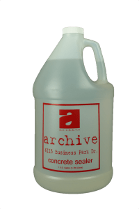 Archive Concrete Sealer