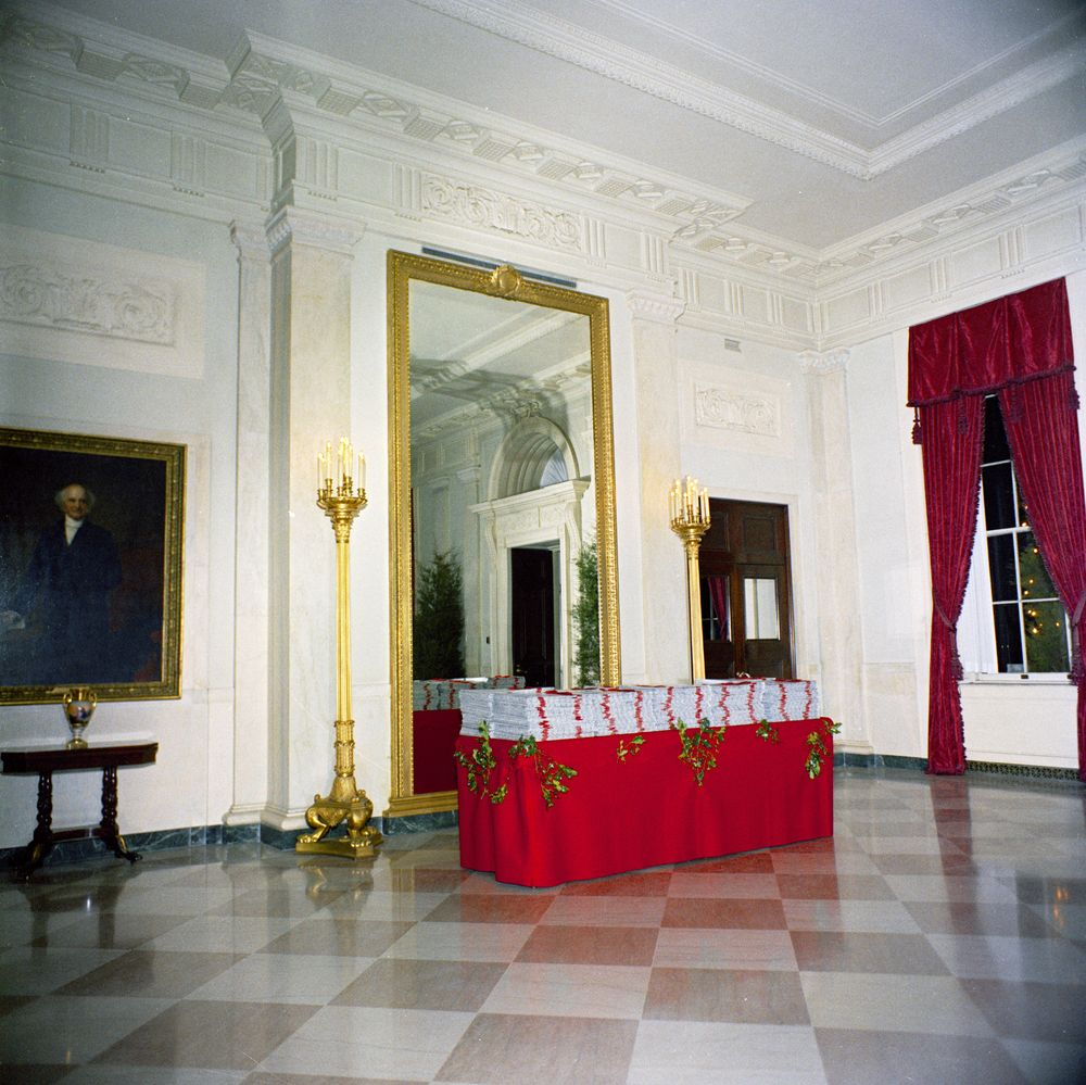 White House Rooms Christmas Decorations East Room Red Room Green Room Blue Room State