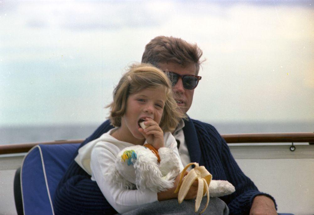 ST C281 31 63 President John F Kennedy And Caroline