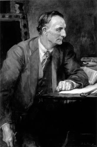 Portrait of Sir Edward Grey at Balliol College; 1928 portrait by Sir James Guthrie