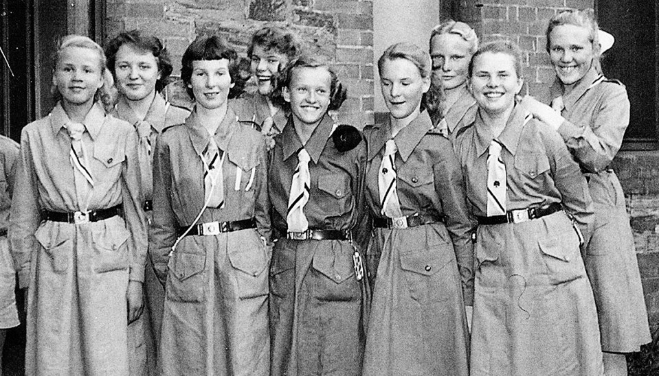 Estonian Girl Guides Adelaide 1950s