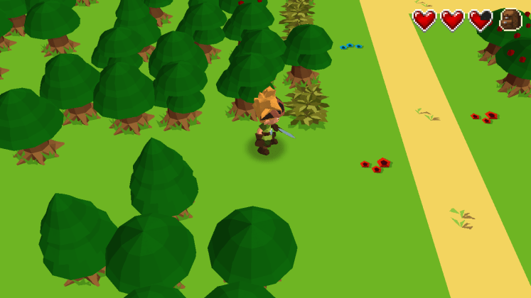 Une forêt vide