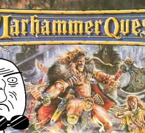 Warhammer Quest – Le wizard arrive à tuer son premier monstre