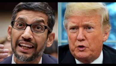 Donald Trump et Google