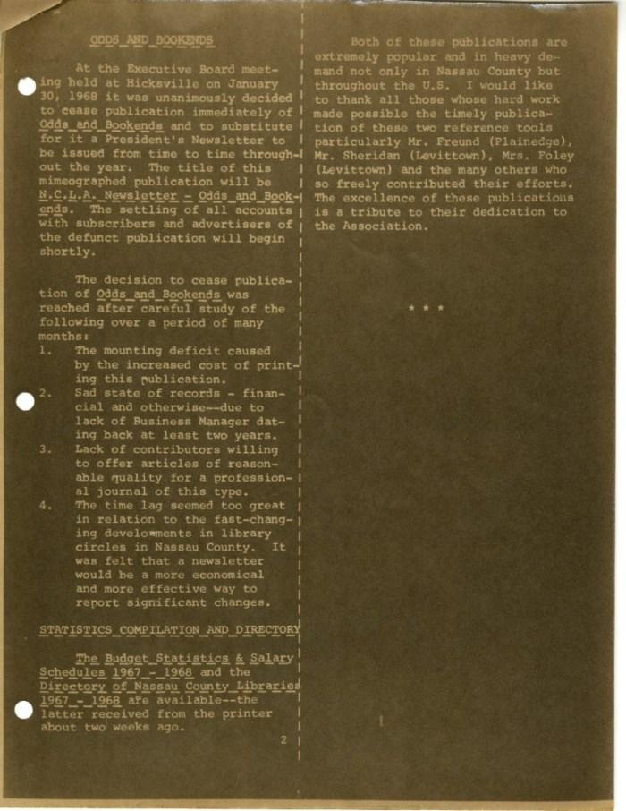 NCLA News, page 2.