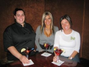 From left, Marquee Cafe cook Beverly Warner with sisters Mandy Bonacassio and Marnie Capobianco. Michele Morcey