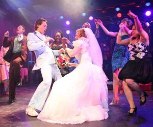 'The Wedding Singer is at TriArts Sharon Playhouse through July 11. Randy ORourke