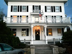 The Falls Village Inn is now open for business after several years of being closed. The new owners made extensive renovations to the historic building. Ruth Epstein Republican-American