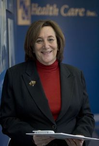 Ellen Rothberg is president and CEO of VNA HealthCare. The nonprofit organization provides hospice and visiting nurse services to individuals in 59 towns in the state, including 7,000 people in Greater Waterbury. Steven Valenti / Republican-American