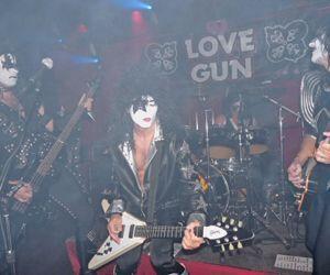 Pulling out the Gun | On Saturday, the Red Door in Watertown will host the Kiss tribute Love Gun with guest Karmic Justice. The band is marking 15 years of mayhem, said guitarist Roy Oliver. Credit: contributed
