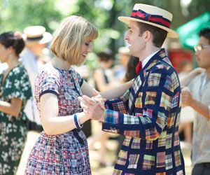 Organizers of the Litchfield Jazz Festival expect to see scenes such as this one, captured earlier this summer at the Jazz Age Lawn Party on New Yorks Governors Island, to unfold for the first time at the festival in Goshen next weekend. Credit: Nathan Turner
