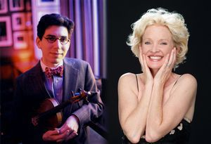 Christine Ebersole & Aaron Weinstein will perform together on opening night of the 18th annual Litchfield Jazz Festival, Aug. 9 to Aug. 11, at the Goshen Fairgrounds. Contributed photo