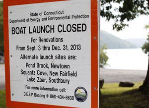 The state will temporarily close down the Lake Lillnonah boat launch starting next week to allow workers to upgrade and enhance the facility. The project is expected to take approximately 4 months. Christopher Massa Republican-American
