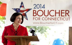 State Senator Toni Boucher (R-26) announced her exploratory committee filing today in Naugatuck for a possible run for governor. Boucher grew up in Naugatuck after emigrating from Italy at the age of five with her family. She currently resides in Wilton. Bob Falcetti Republican-American