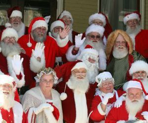 Santas got together for workshops in Torrington in the past but this year will visit Waterbury.Republican-American archive