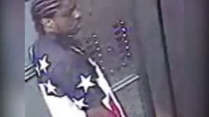 A surveillance camera recorded this image of a man who is believed to be 30-year-old Andrew Alexander, suspect in a rape in a bus terminal in New York City. City police and detectives from New York found Alexander hiding out in Waterbury on Thursday. Alexander was sent back to New York later in the afternoon. Screen image contributed.